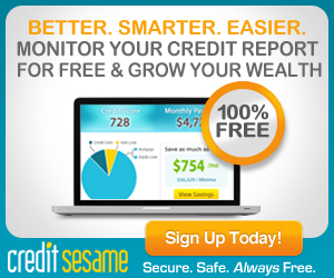 Get your FREE Credit Score + Monitoring & ID Protection