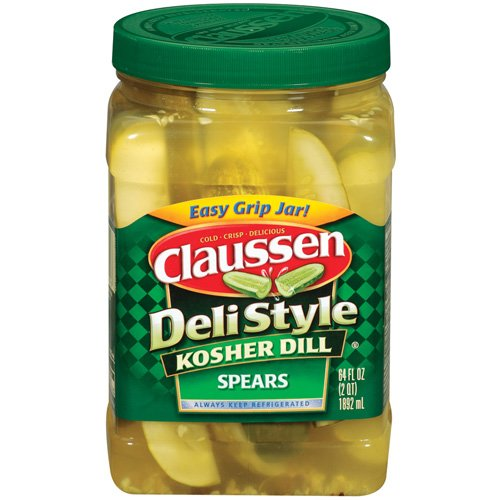 Save $0.55 off any one jar of CLAUSSEN Pickles + ShopRite Deal!