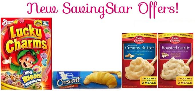 New – SavingStar Offers Including: General Mills, Pillsbury & More!