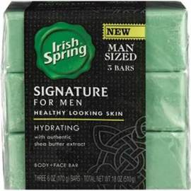 Irish Spring Signature for Men Body Wash or Bar