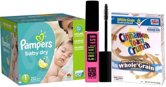 New Printable Coupons Including: General Mills, Pampers, Maybelline & More!