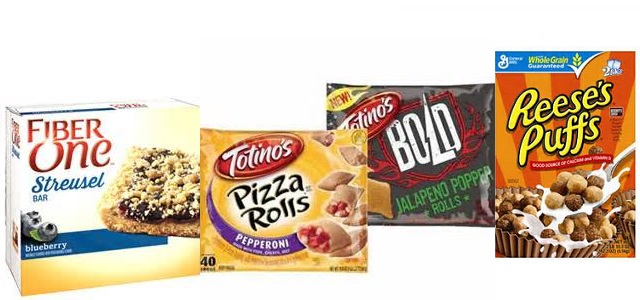 High Value Coupons – Totino's Pizza Rolls, Fiber One & Big G Cereals!