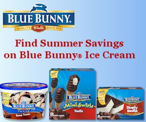 Coming Soon – Summer Savings On Blue Bunny Ice Cream (Check Your Newspaper May 10th!)