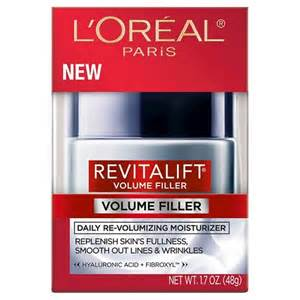 New – $3.00 off L'Oreal Paris Revitalift Volume Filler