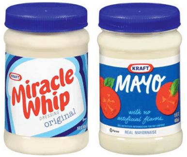 kraft mayo miracle whip