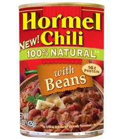 New Coupon: Save $1.00 off any 2 HORMEL Chili natural products