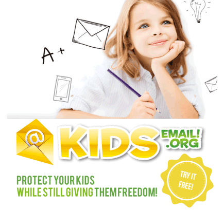 Kids Email FREE 90-Day Subscription