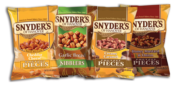 *Rare* $0.55 off 1 bag of Snyder's Hanover Pretzel Coupon