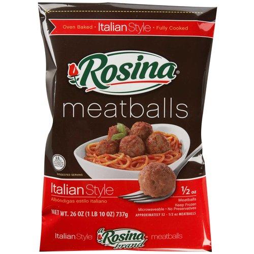 New Coupon: $1.00 off 1 Bag of Rosina Meatballs