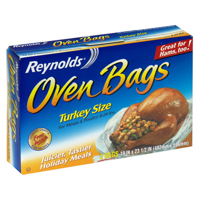 Save: $0.50 off ONE Reynolds Oven Bags product