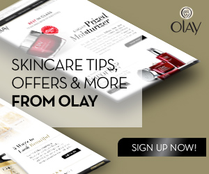 Join Club Olay & Get Beauty Advice and Money Saving Offers!