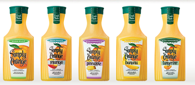 New Coupon – $1.00 off (1) carafe of Simply Orange, any variety