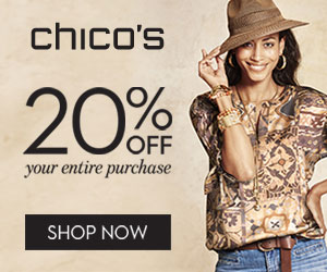 Save 20% Off Your Purchase At Chico's!
