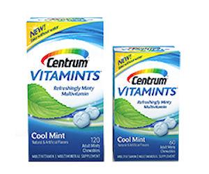 Free Sample of Centrum VitaMints Multivitamins