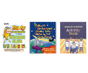 Free EPA Book Cover & Activity Books