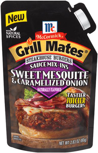 Save – $0.50 off any 1 McCormick Grill Mates