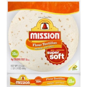 Save – $0.55 off 1 package Mission Super Soft Tortillas