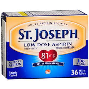 High Value –  $2.00 off any one (1) St. Joseph low dose aspirin Coupon!