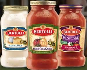 $1.50 off (2) Jars of Bertolli Pasta Sauce