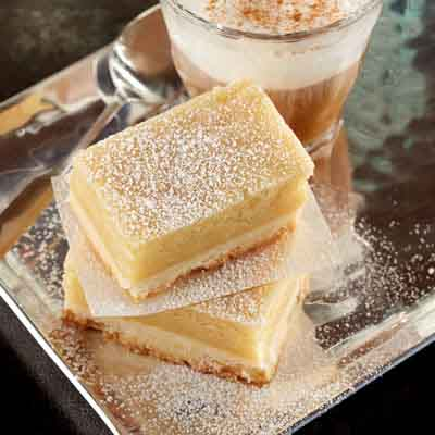 Gooey Butter Shortbread Bars