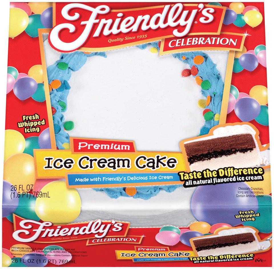*High Value* $3.00 off ONE Friendly's Ice Cream Cake 32 oz