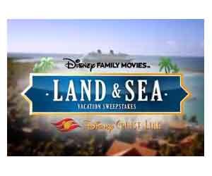 Win a Walt Disney World Vacation and a Disney Cruise
