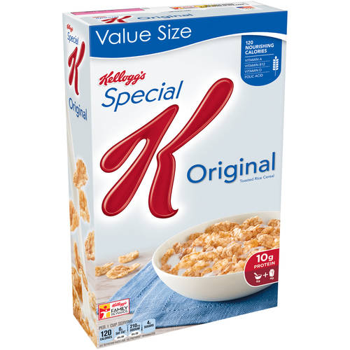 Save – $1.00 off any TWO Kelloggs Special K Cereals