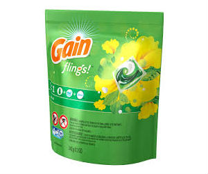Gain Flings Detergent ONLY $2.99 at Walgreens with Coupon