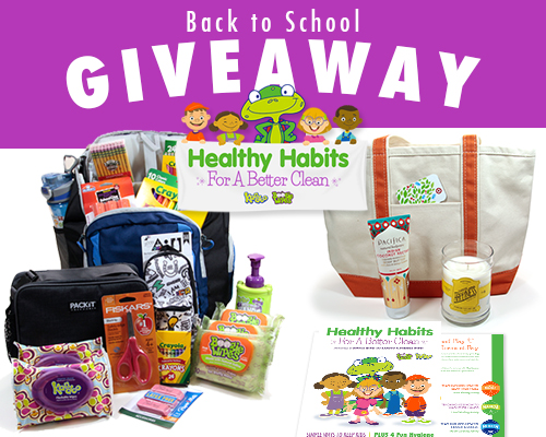 Enter to win Healthy Habits Giveaway Package from Boogie Wipes and Kandoo