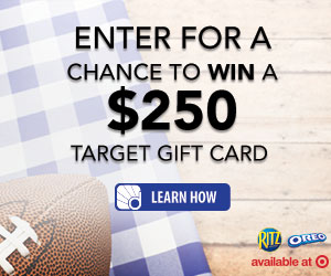 Enter to win a $250 Target gift card