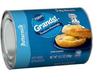 Pillsbury Grand Biscuits Only $0.65 at Walmart with Coupon