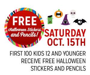 Kmart Freebie Saturday – Free Halloween Stickers & Pencils