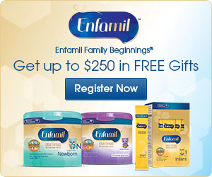 Enfamil Family Beginnings – Up To $325 In FREE Gifts
