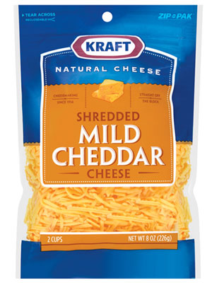 Save – $1.00 off one KRAFT Natural Shredded Cheese 16oz
