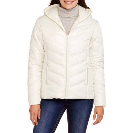 *Hot Deal* Women's Hooded Chevron Quilted Jacket Only $9.20 After Cash Back
