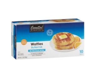 Free Essential Everyday Frozen Waffles at Select Stores