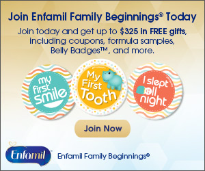 *Hot* Up To $325 In FREE Gifts, Coupons, Formula Samples & More When You Join  Enfamil Family Beginnings!