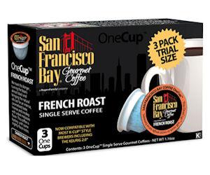 Free Sample Box of San Francisco Bay French Roast K-Cups