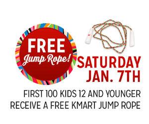 Kmart Freebie Saturday – Free Jump Rope