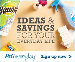 Free P&G Samples & Coupons When You Sign Up!