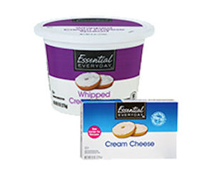 Free Essential Everyday Cream Cheese at Select Stores