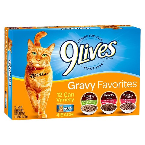 2 New – 9 Lives Wet Cat Food Coupons Available To Print