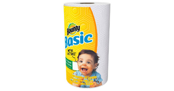 Bounty Basic Paper Towels at Dollar General for $0.75 a Roll