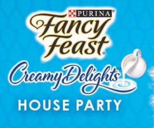 Free Fancy Feast Creamy Delights Party