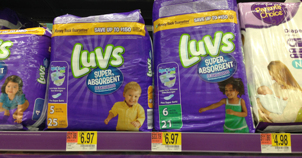 Luvs Diapers Only $4.97 At Walmart After Coupons