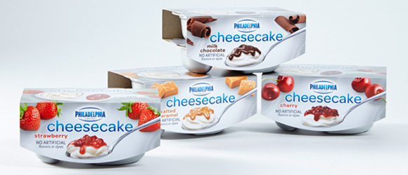 New Coupon – Save $0.75 on ONE (1) PHILADELPHIA Cheesecake Cups