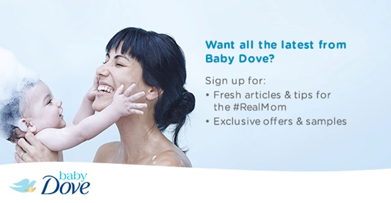 Sign up to get special offers from Baby Dove