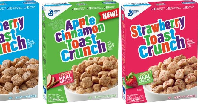 New Coupon – Save $0.50 when you buy ONE BOX Cinnamon Toast Crunch
