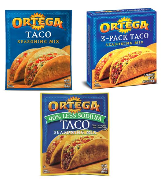 New Coupon – Save $1.00 on any TWO (2) ORTEGA Products Plus Target Deals!