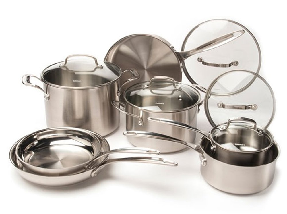 Amazon Deal – CUISINART 12-Piece Stainless Steel Cookware Set Only $129.99 (Reg. $465.00) Plus FREE Shipping!